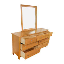 cheap wood dressers. Stanley Furniture Maple Wood Dresser And Mirror Used Cheap Dressers R