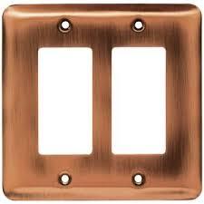 liberty kitchen cabinet hardware brainerd sted steel round double gfi decora in antique copper