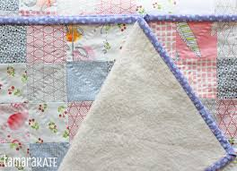 Kayajoy » Baby Quilt with a Super Soft Back & tamara kate - heart baby quilt fleece back2 Adamdwight.com