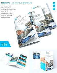 Brochure Template Tri Fold Layout Psd Out Microsoft Word 2007