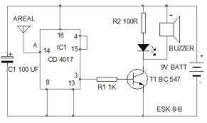 design your circuit part vi ic 4017 circuits mohan's Basic Electrical Wiring Diagrams at 4017 Wiring Diagram