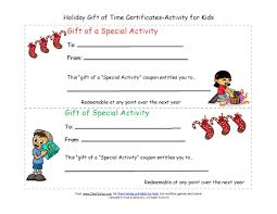 Printable Christmas Certificates Fun Christmas Activities for Kids 89