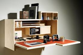 build your own home office. home office ideas simple wall mounted wooden desk with storage build your own
