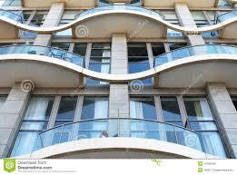 Modern Apartment Facade Stock Photo Image - Modern apartment building facade