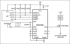 fan speed control is cool tutorial maxim the max1669 drives the fan in pwm mode