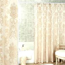 damask shower curtain