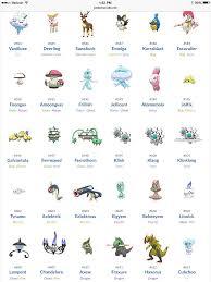 Ferroseed Evolution Chart Generation 5 Pokemon Pokemon Pokemon Go Anime