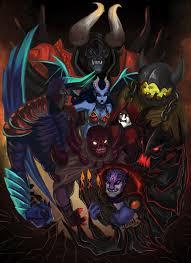 marry mind seven devils all around me seven demons in my dota doom