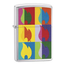 <b>Зажигалка Abstract Flame</b> Design ZIPPO 29623 — купить в ...