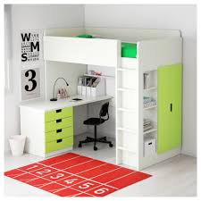 ikea stuva loft bed combo w 4 drawers 2 doors