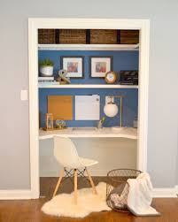 desk in closet. Delighful Desk Closet Desk Makeover Via The Cofran Home For Cost Plus World Market  Wwwworldmarketcom FallHomeRefresh To In