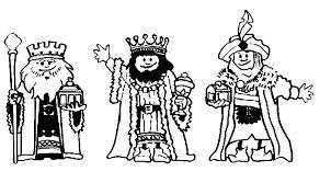 Kleurplaat Drie Koningen 2