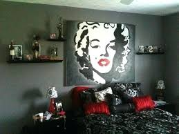 marilyn monroe decor bedroom together with large window beach view party  decoration ideas