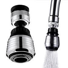 360 Rotate Kitchen Faucet Adapter Spray Water Purifier Saving Tap