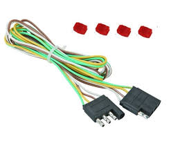viac než 1000 nápadov otrailer light wiring na e príves 48 trailer light wire harness 4 way wire flat connector trailer light extension