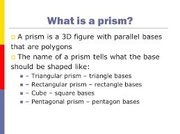 What Is Prism What Is A Prism What Is Prism Prism Shape Names Cameronblack Club