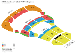 Iu Seating Chart 2019 Iu Tour Concert Love Poem In Singapore Apactix