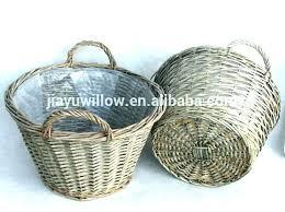 baskets for plants baskets for plants plastic plant baskets wicker plant baskets plastic lined grey wicker