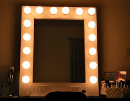 mirror with light bulbs. vanity makeup mirror with light bulbs and decoration lighted image ideas picture b