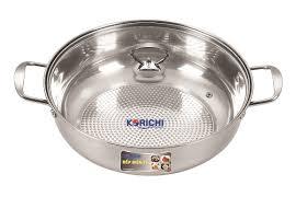 Bếp điện từ đơn chính hãng KORICHI KRC-3558 + Kèm nồi lẩu 1kg - Hàng Chính  Hãng - Bếp điện từ đơn