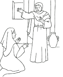 mary_angel_1_colorpg an angel visits mary color page on angel gabriel visits mary coloring pages