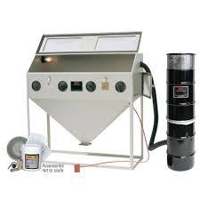 Abrasive Blasting Cabinet Alc 60 In Abrasive Blaster Cabinet With Starter Kit 4041310 The