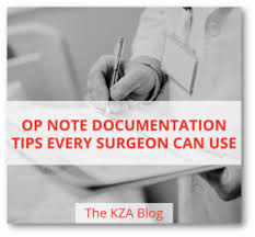 Op Note Documentation Tips Every Surgeon Can Use