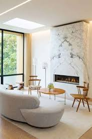 24 Examples Of Minimal Interior Design #36. Marble FireplacesMarble Fireplace  SurroundLinear ...