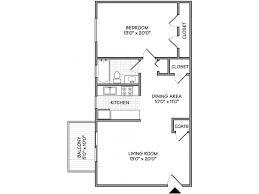 ... Best Small 1 Bedroom Apartment Floor Plans One ...