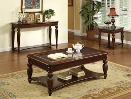 windsor dark cherry accent tables with