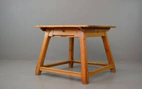 vintage arts crafts pine dining table for at pamono wonderfulom and chairsund dining room with