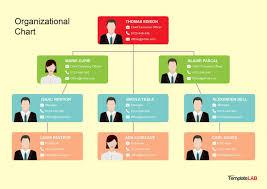 Free Organizational Chart Templates Template Samples