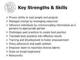 Job Weaknesses Examples List Personal Strengths Resume For Examples Of Spacesheep Co