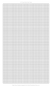 1 4 Inch Graph Paper Template Legal Pdf Printable Graph