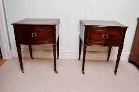 Image of: Antique Fair Of Edwardian dside Tables