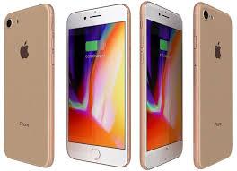 apple iphone 8 gold. apple iphone 8 gold 3d model max 3ds fbx c4d lwo lw lws ma mb 2 e