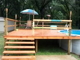 Diy Above Ground Pool Slide Concrete Construction Pools Finest