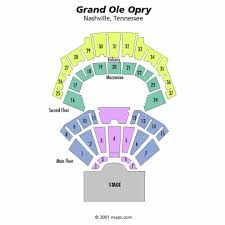 Opry Com Seating Chart Grand Ole Opry House Seating Grand Ole Opry Nashville