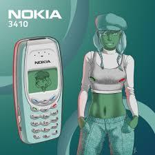 ArtStation - Humanization - Nokia 3410 ...