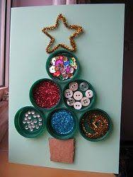 Recycled Bottle Top Xmas Decoration  Bottle Top Milk Bottles And Christmas Crafts From Recycled Materials