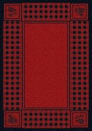 pine cone area rugs river fly fishing rug collection cabin place plaid bass dean mt lodge cabi