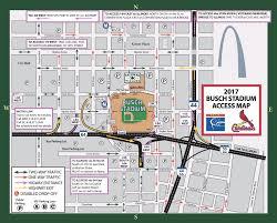busch stadium parking guide tips maps deals  spg