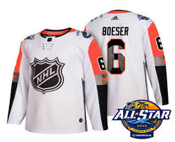 Vancouver Ice Boeser Stitched Sale Canucks wholesale Men's 6 From All-star 2018 On Hockey White China Jersey Cheap Brock for Nhl|Chef Who Dat