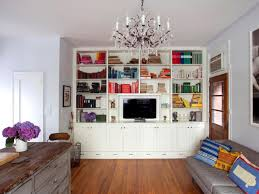 Open Plan Living Room Decorating Captivating Open Plan Bookcase Ideas For Living Room Interior
