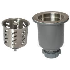 Stainless Steel Kitchen Shop Keeney 35 In Stainless Steel Kitchen Sink Strainer Basket At