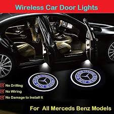 Some logos are clickable and available in large sizes. 2pcs For Mercedes Benz Car Door Logo Projector Lights Led Welcome Laser Door Lights Logo Wireless Type Projector Car Door Lights For All Models No Wiring No Punching Benz Badge Accent