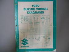 suzuki ts250 wire 1980 suzuki factory wiring diagrams manual pe175 pe250 ts125 ts185 ts250 sp400
