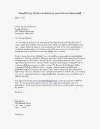 34 Addressing Cover Letter Unknown Person Professional