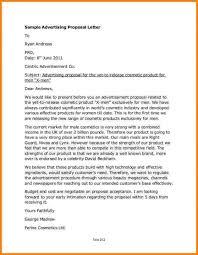 Download Free Advertising Proposal Letter Baskanai Activetraining Me