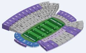 Tcu Football Seating Chart Tcu Horned Frogs 2018 Football Schedule